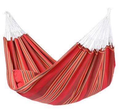 Stripes Terracotta Houpací síť XXL