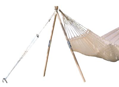 Madera  Jednoduchý stojan na houpací síť