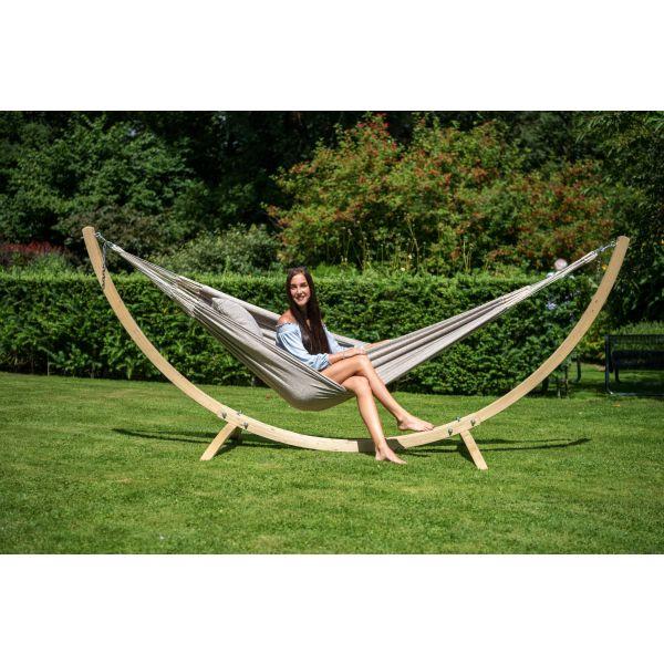 'Wood'  Jednoduchý stojan na houpací síť