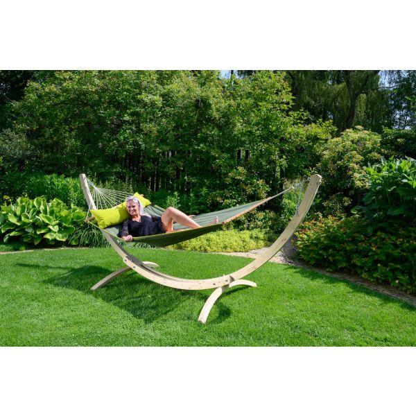 'Wood'  Dvojitý stojan na houpací síť