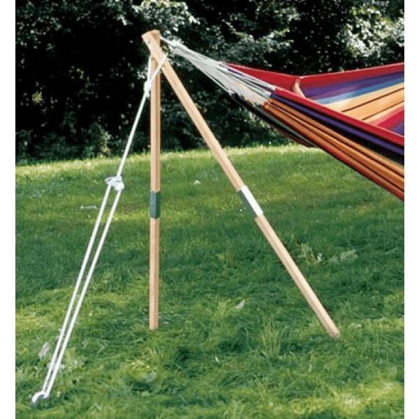 'Madera'  Jednoduchý stojan na houpací síť